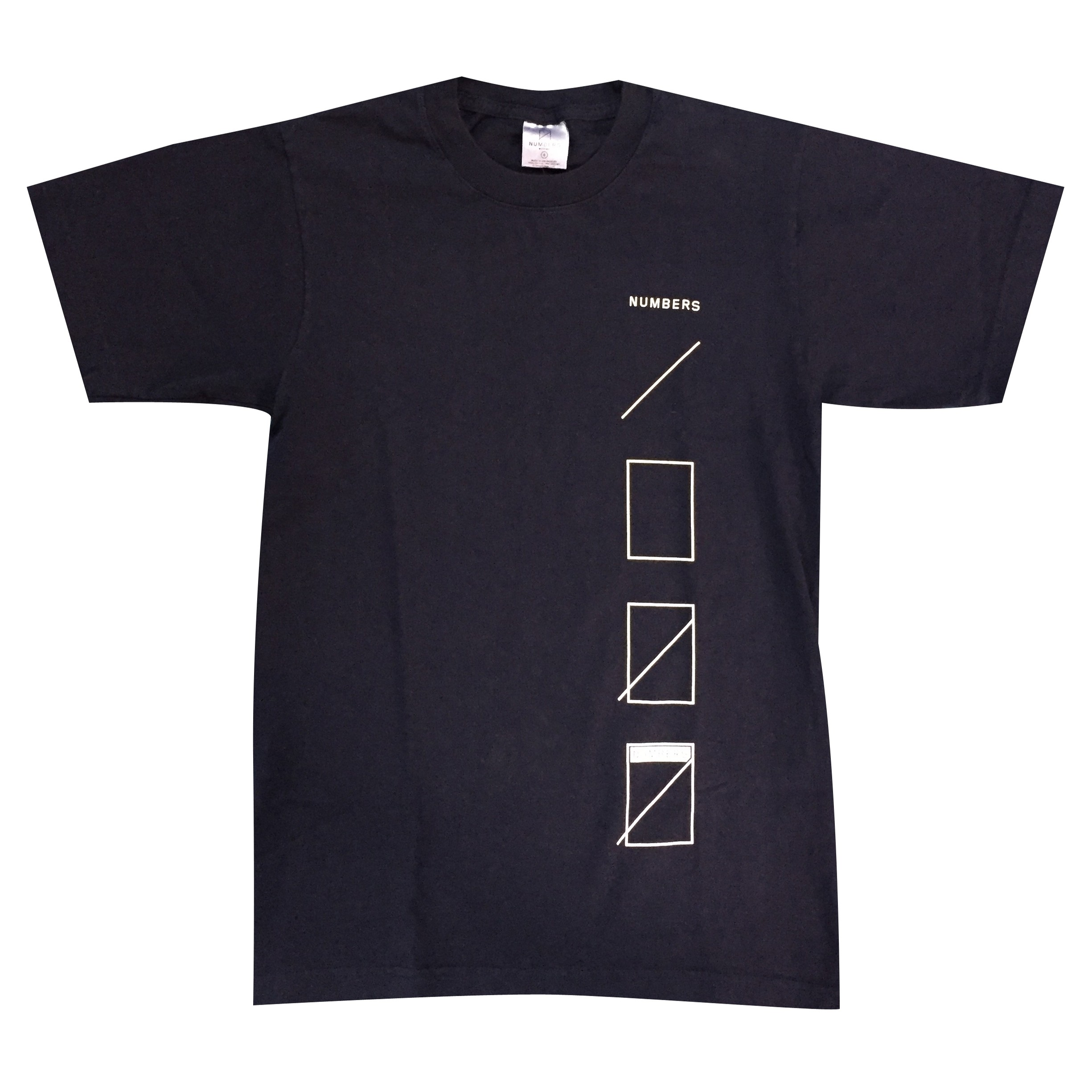 Numbers Assembly Tee S/S