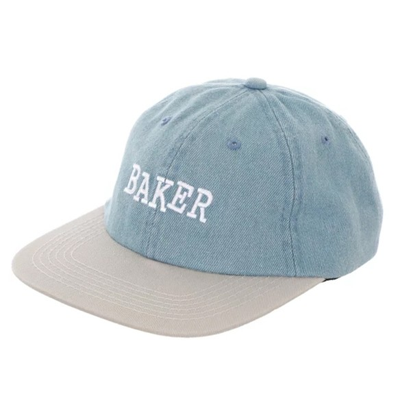Ribbon Denim/Grey Snapback