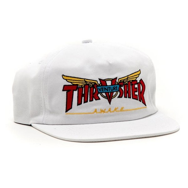 Venture Collab Snapback (White)