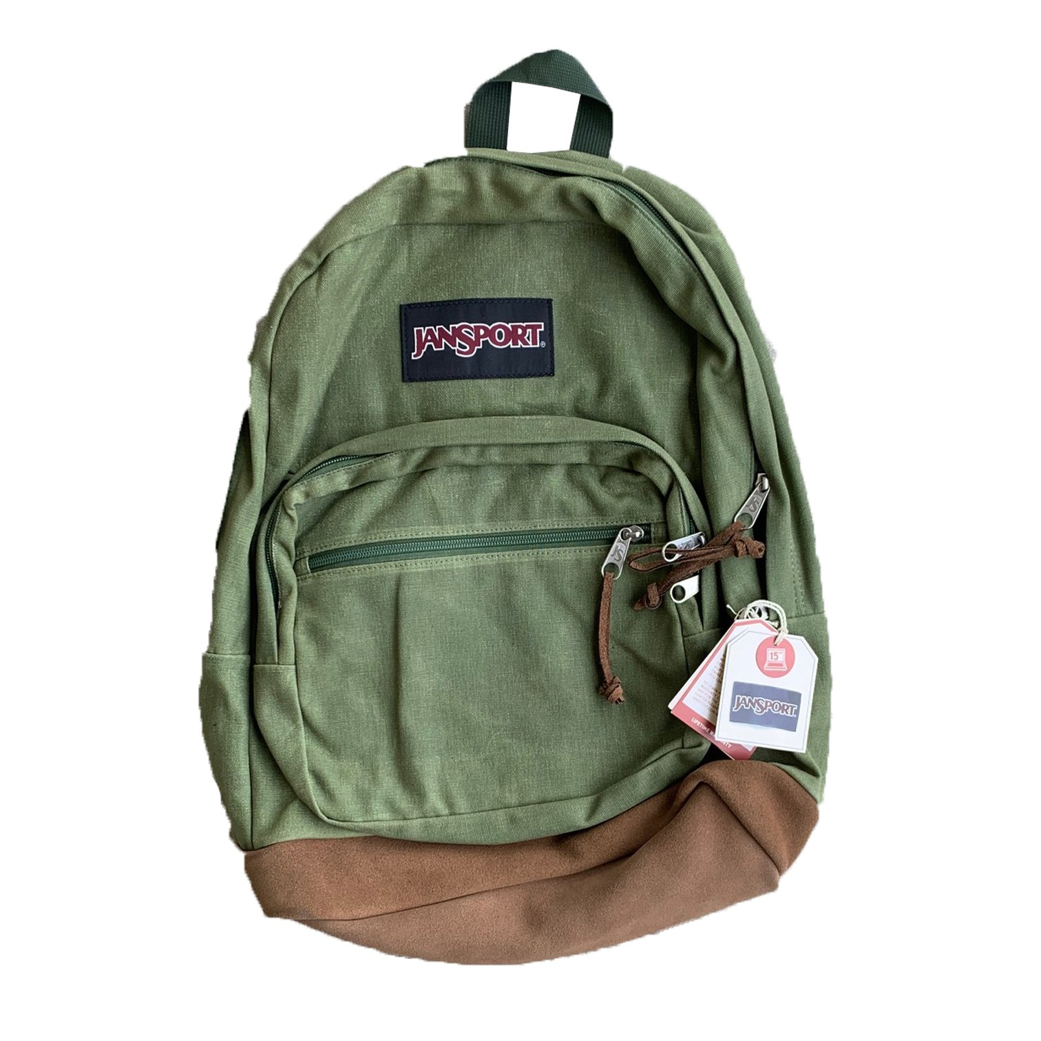 Olive / Brown Backpack