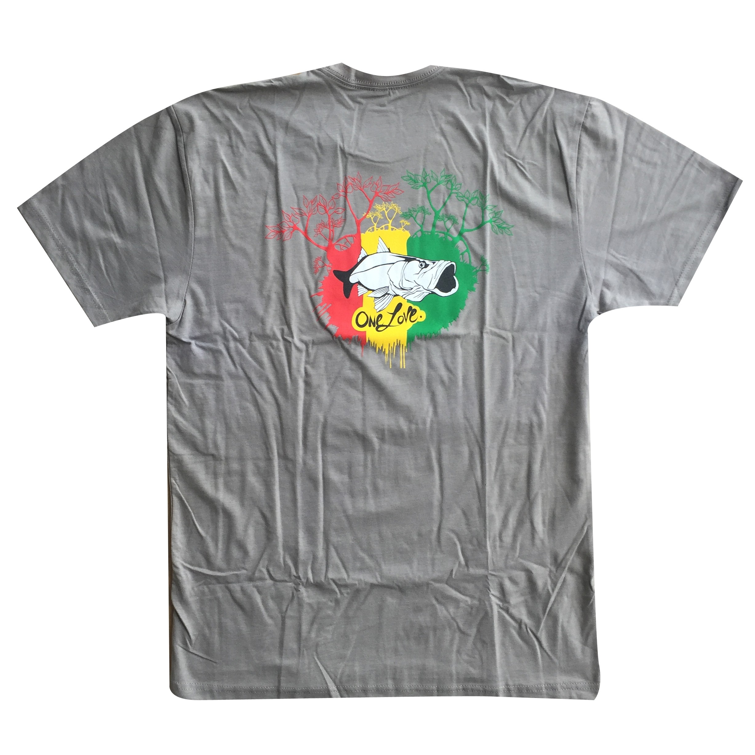 One Love Tee Grey