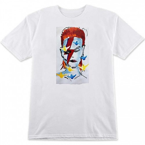 Prime Gonz Bowie Tee White