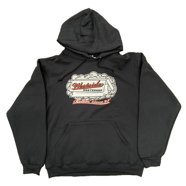 Rolling Paper Pullover (Black)