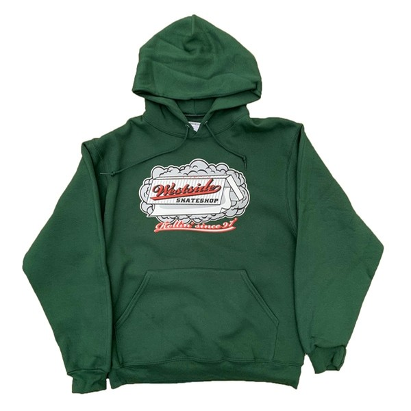 Rolling Paper Pullover (Green)