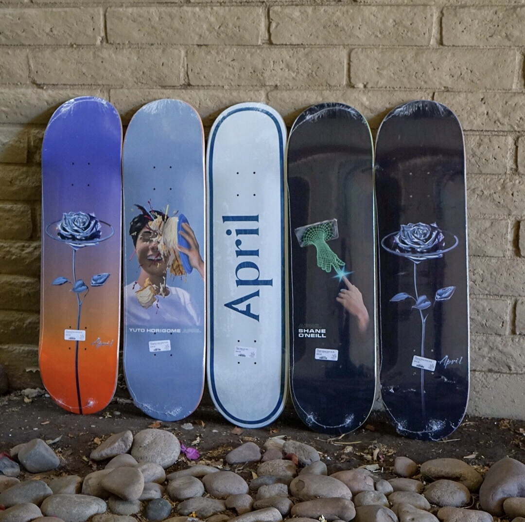 April Skateboards!