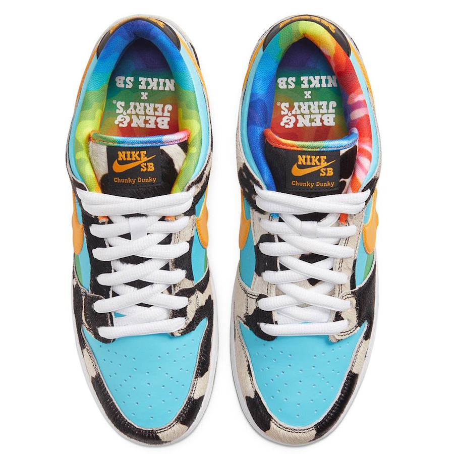 Nike SB Dunk Low x Ben & Jerry's Raffle