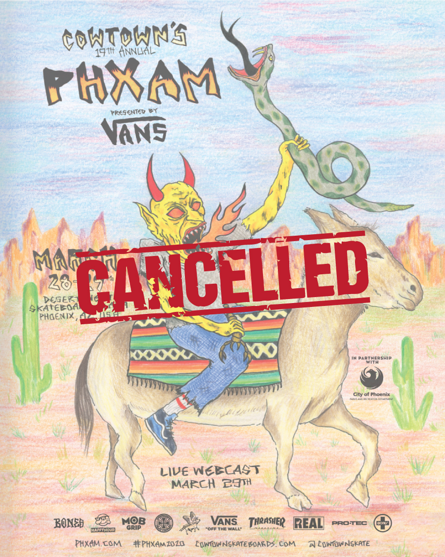 Cowtown's PHXAM 2020 is CANCELLED