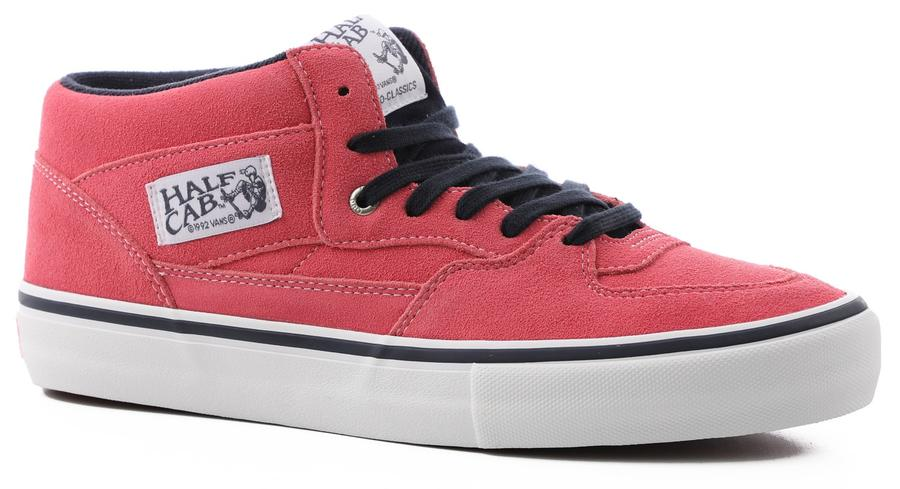 Vans Half Cab Pro (Pink Lemonade) Mens at Tempe