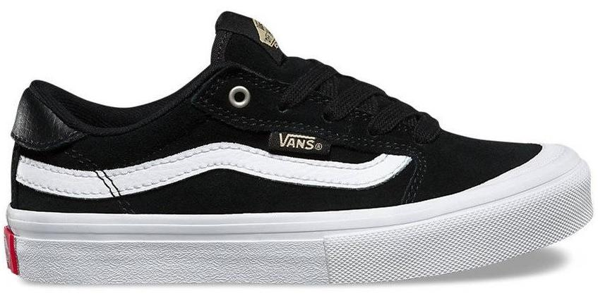 8203e85cab Vans Kids Style 112 Pro (Black/Black/White) Youth at Tempe