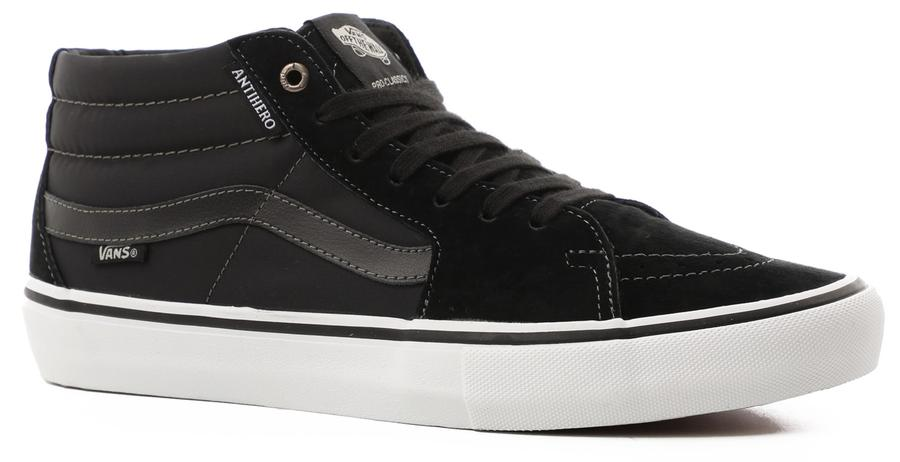 Vans Sk8-Mid Pro (Antihero) Grosso/Black Mens at Tempe