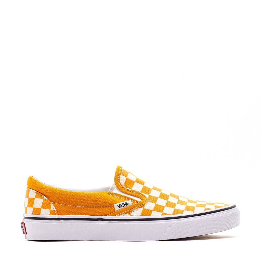 Classic Slip-On (Checkerboard) Dark Cheddar/True White