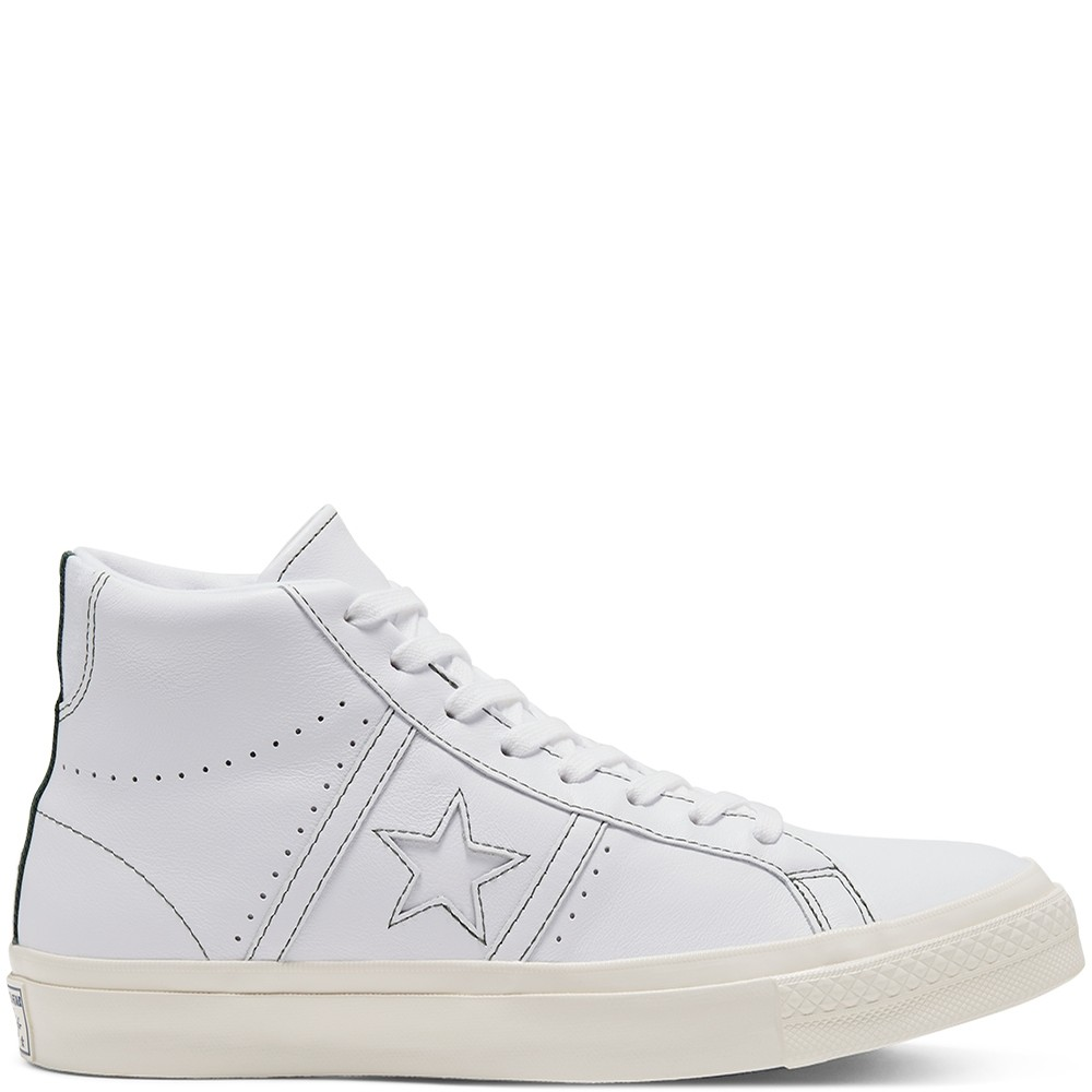 One Star Academy Hi (White/Fir/Egret)