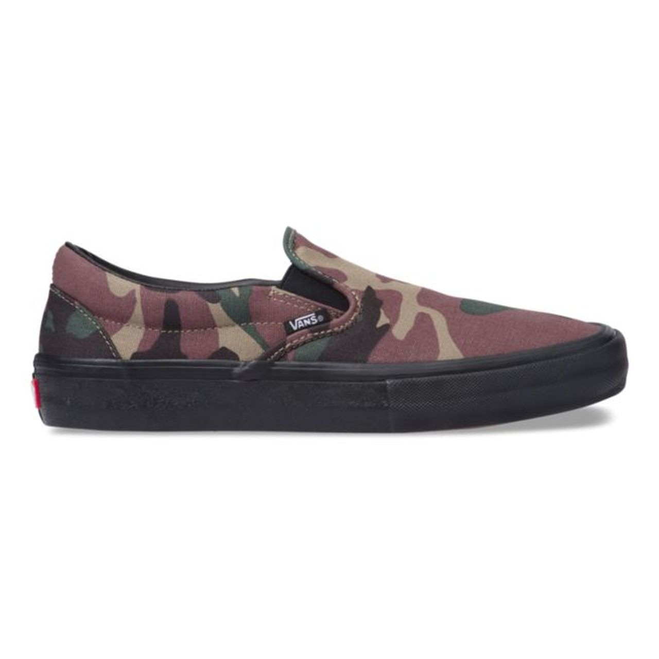 Slip-On Pro (Camo) Black
