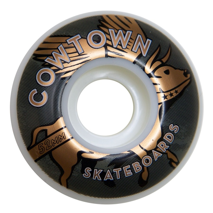 Flying Cow Wheels (White/Copper)