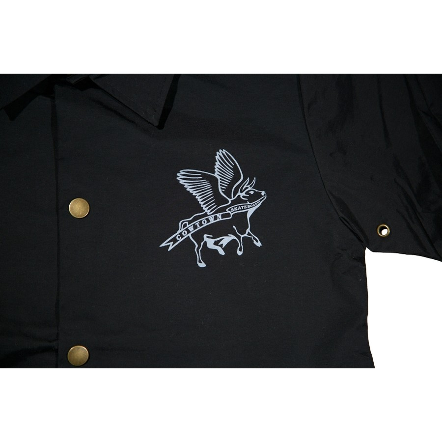 Flying Cow Coaches Jacket (Black)