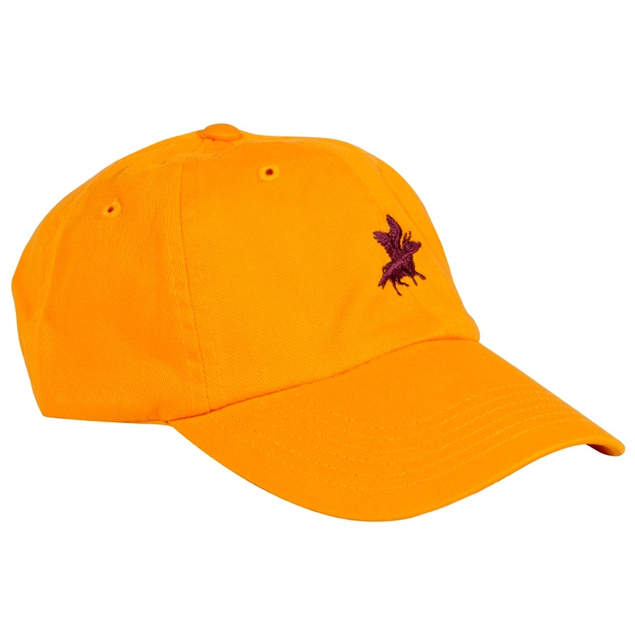 Embroidered Cow Hat (Gold)