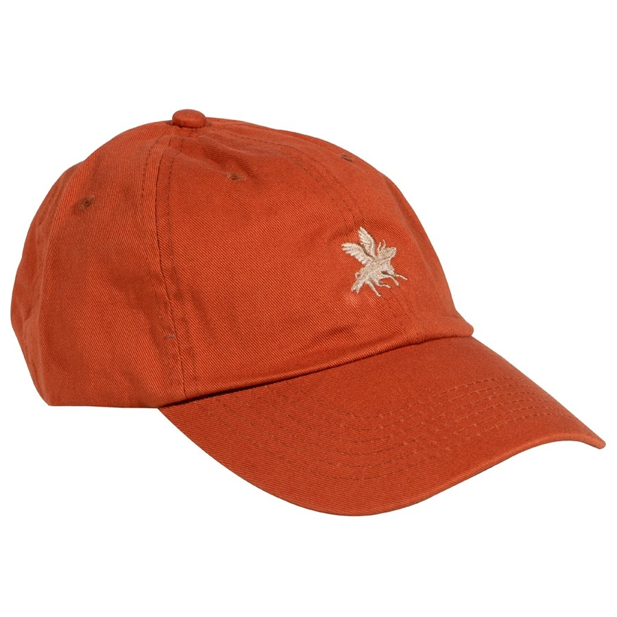 Embroidered Cow Hat (Texas Orange/Gold)