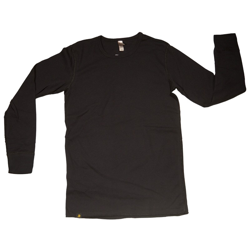 Woven Label Thermal (Black)