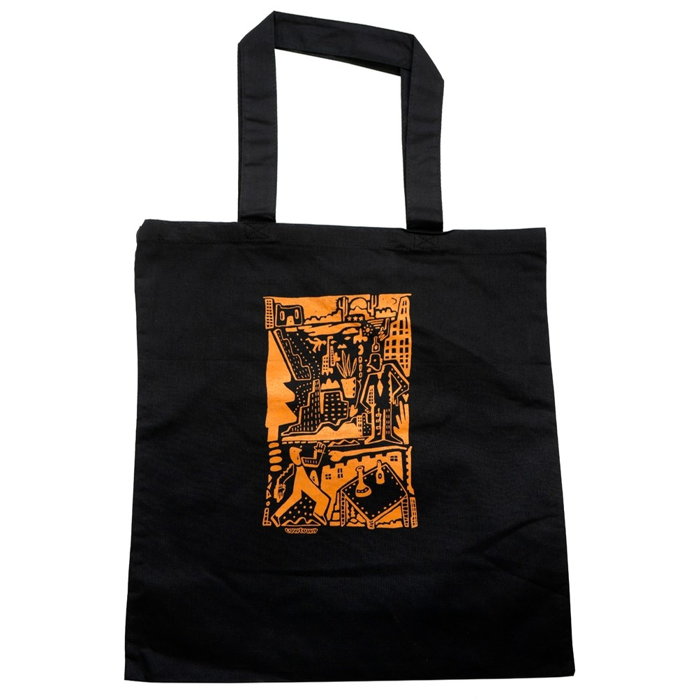 Tino Collage Tote (Black)