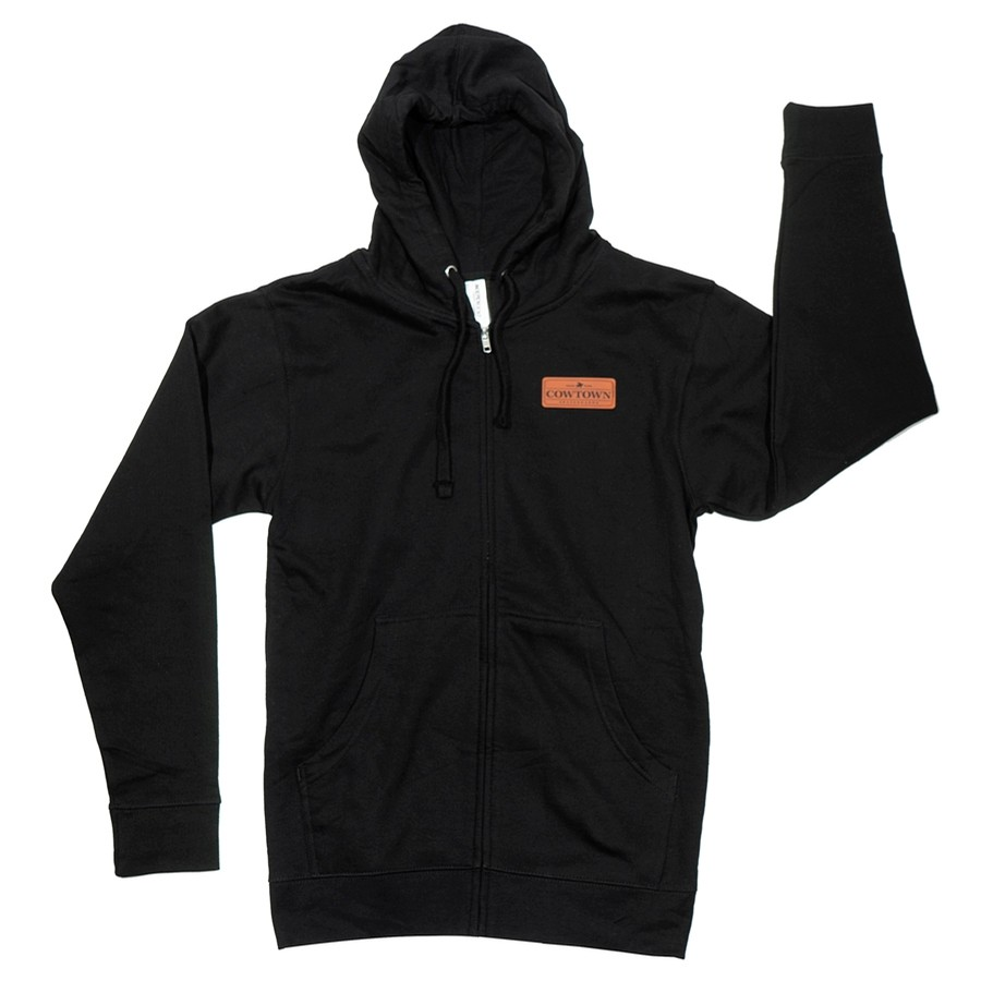 Toro™ Zip Hooded Sweatshirt (Black)