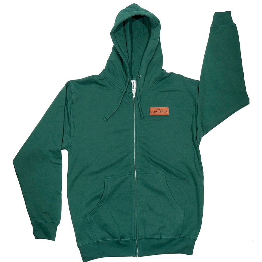 Toro™ Zip Hooded Sweatshirt (Alpine Green)