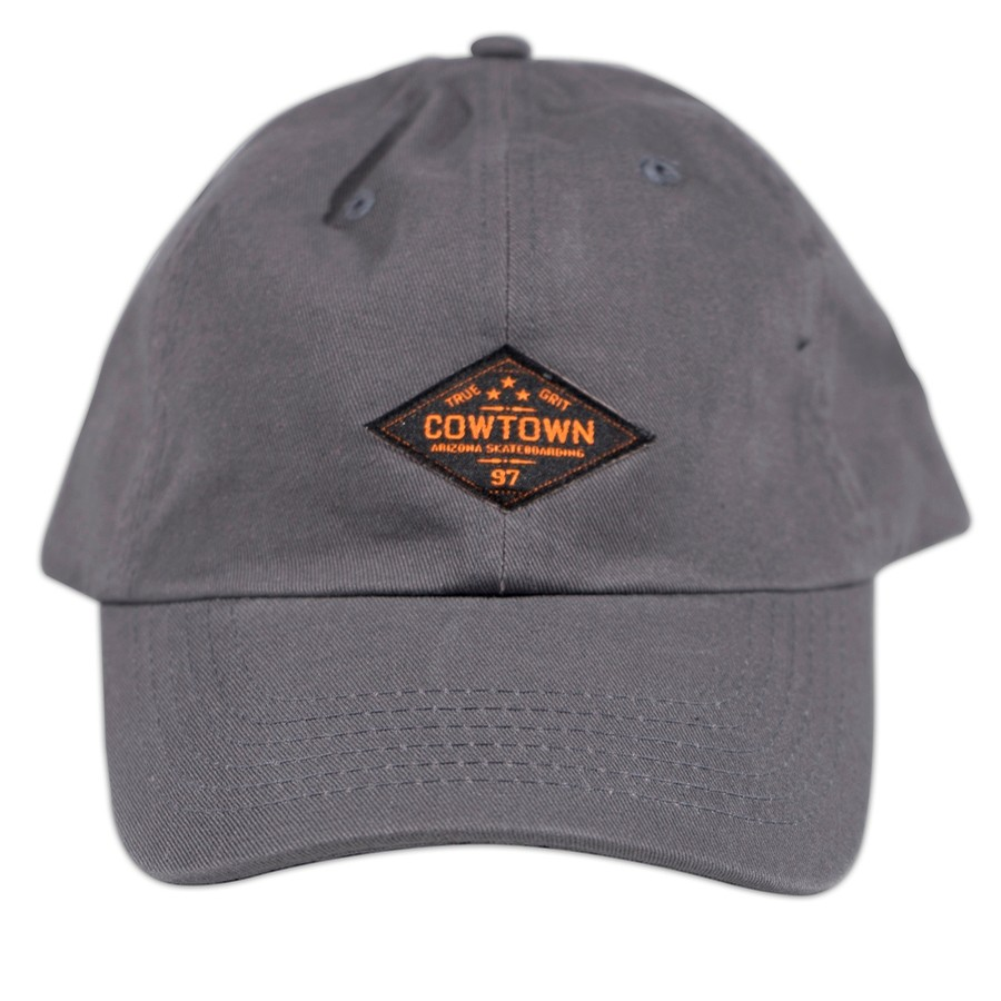 True Grit Dad Hat (Charcoal)