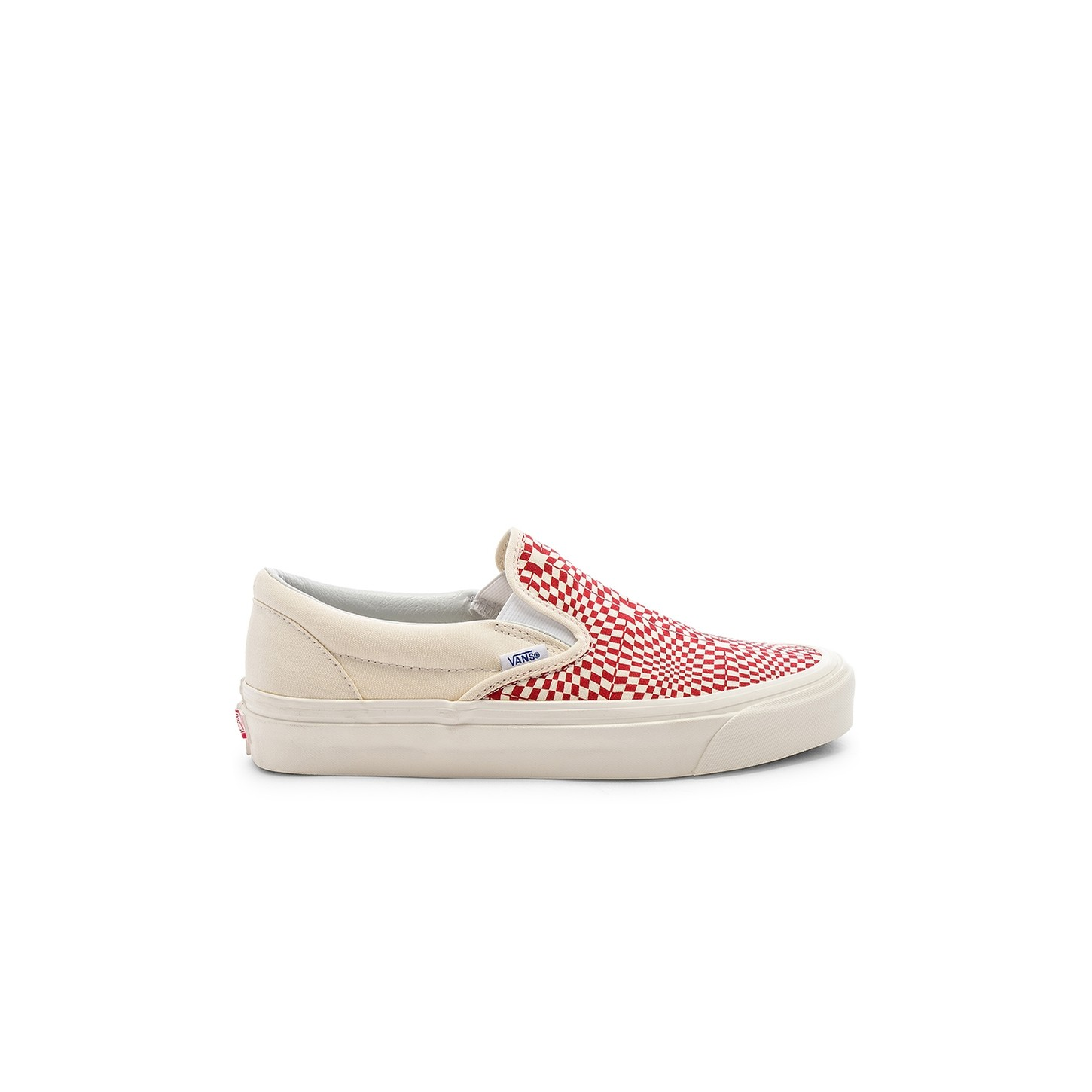 Classic Slip-On 9 (Anaheim Factory) OG Red/White/Warp Check