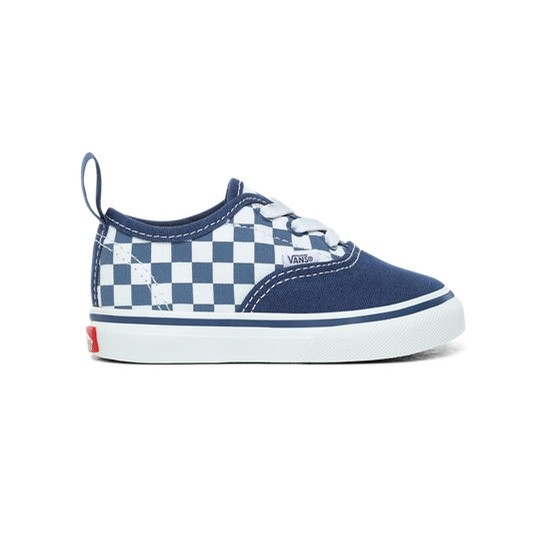 Toddler Authentic Elastic (Checkerboard) True Navy/Bonnie Blue