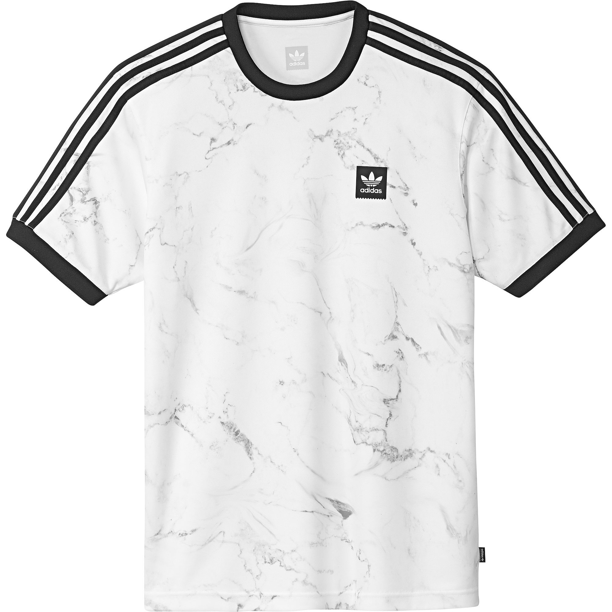 Marble Clima Club Jersey (White/Solid Grey/Black)