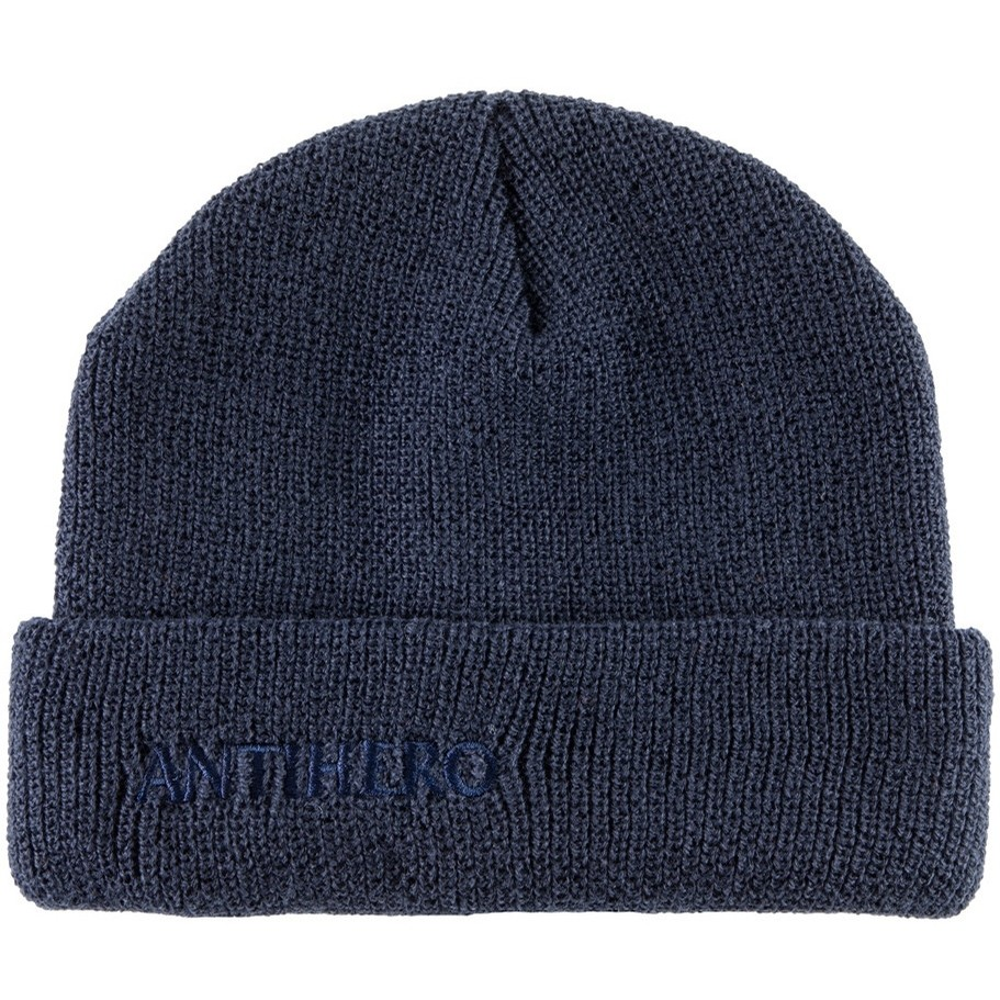 Blackhero Long Cuff Beanie (Navy)