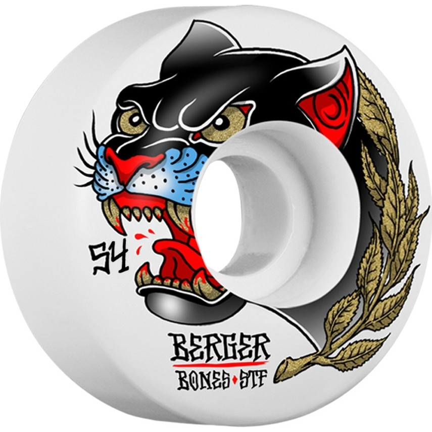 Berger Panther STF Wheels (White)