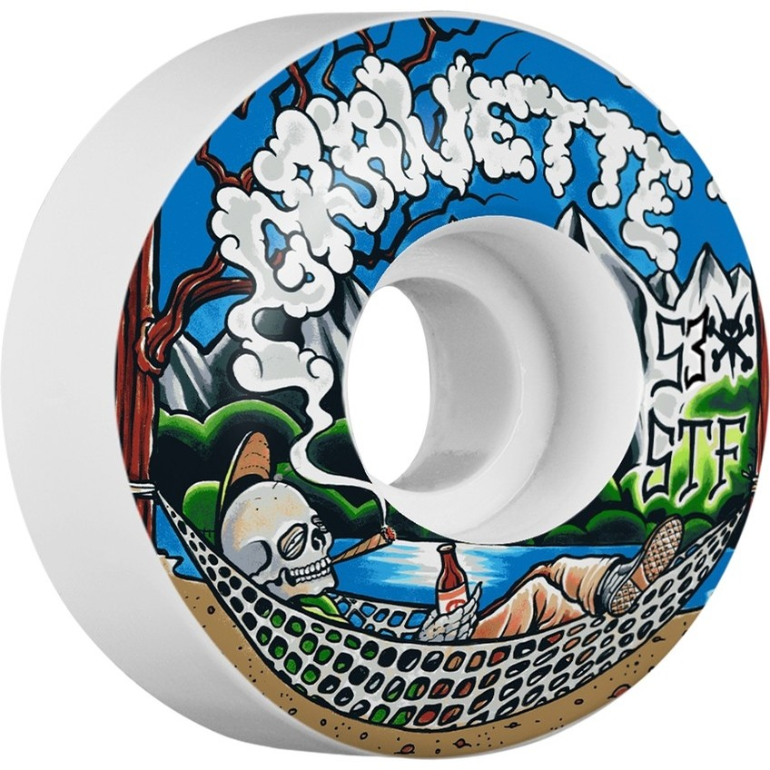 Gravette Outdoorsman Locks Wheels (White)