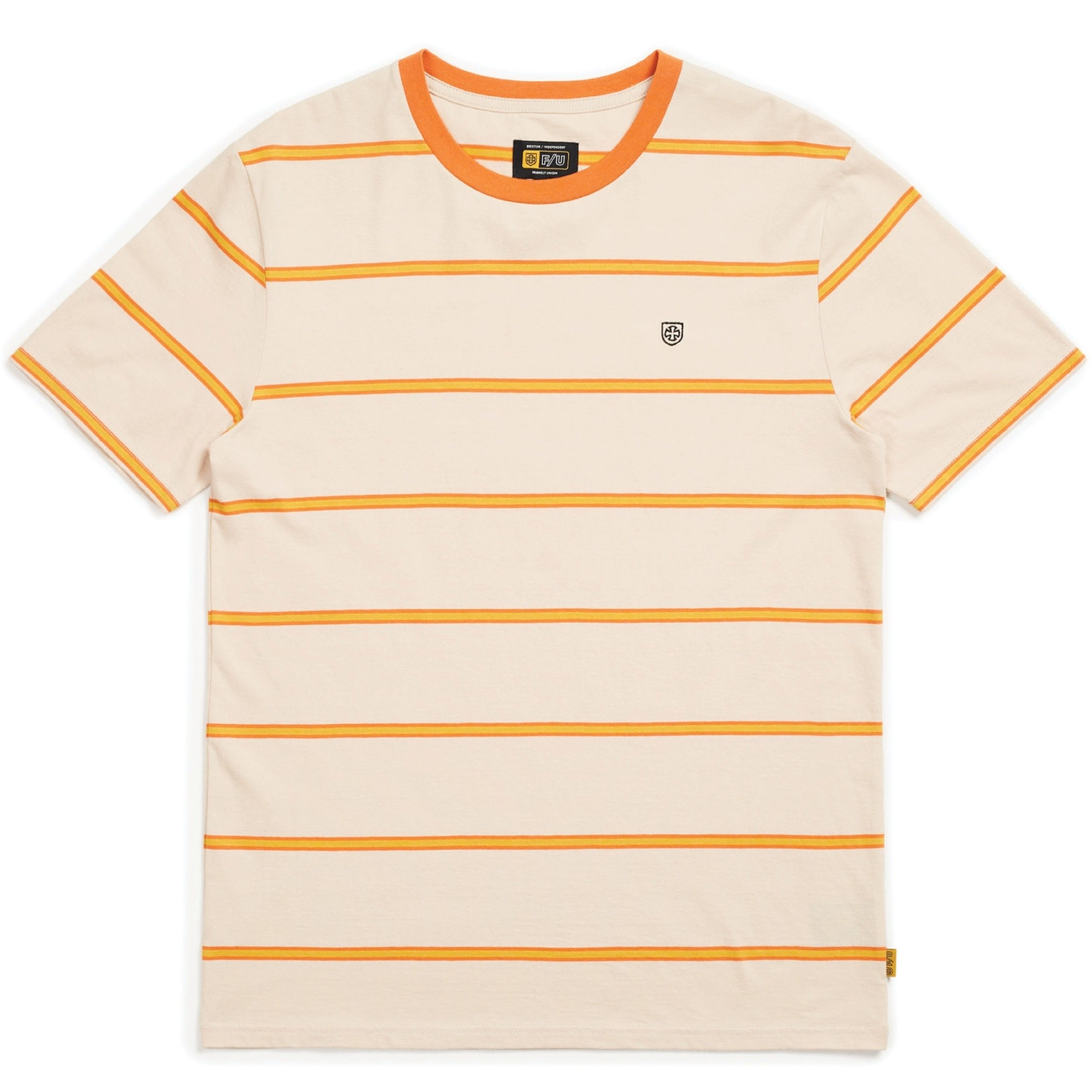 Deputy S/S Knit (Orange/Tan)