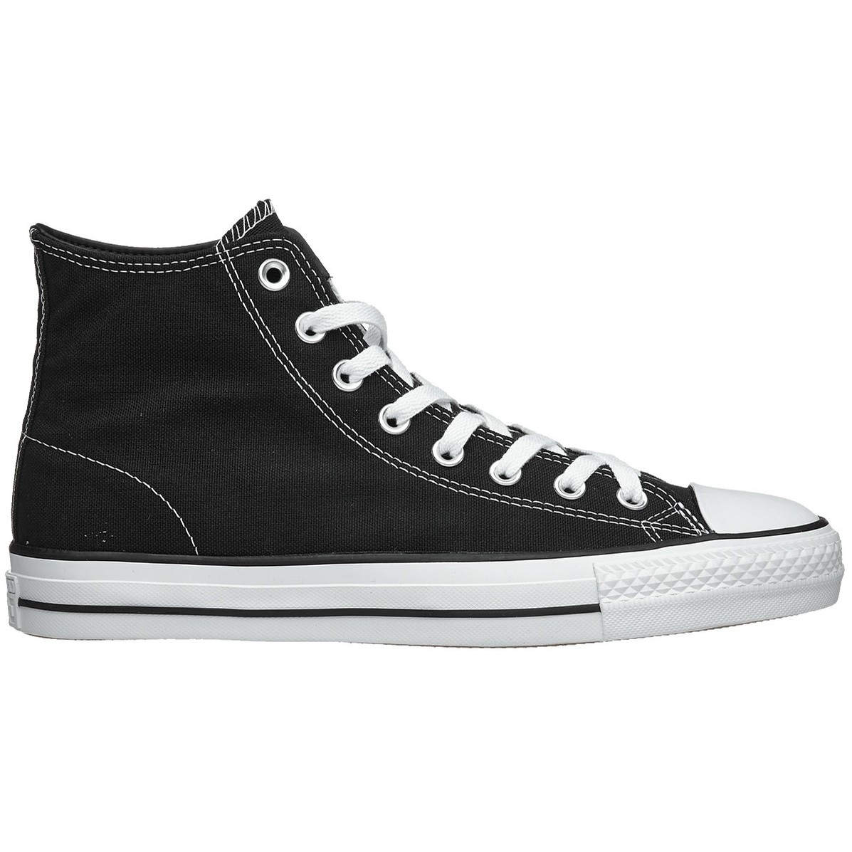 CTAS Pro Hi (Canvas) Black/Black/White