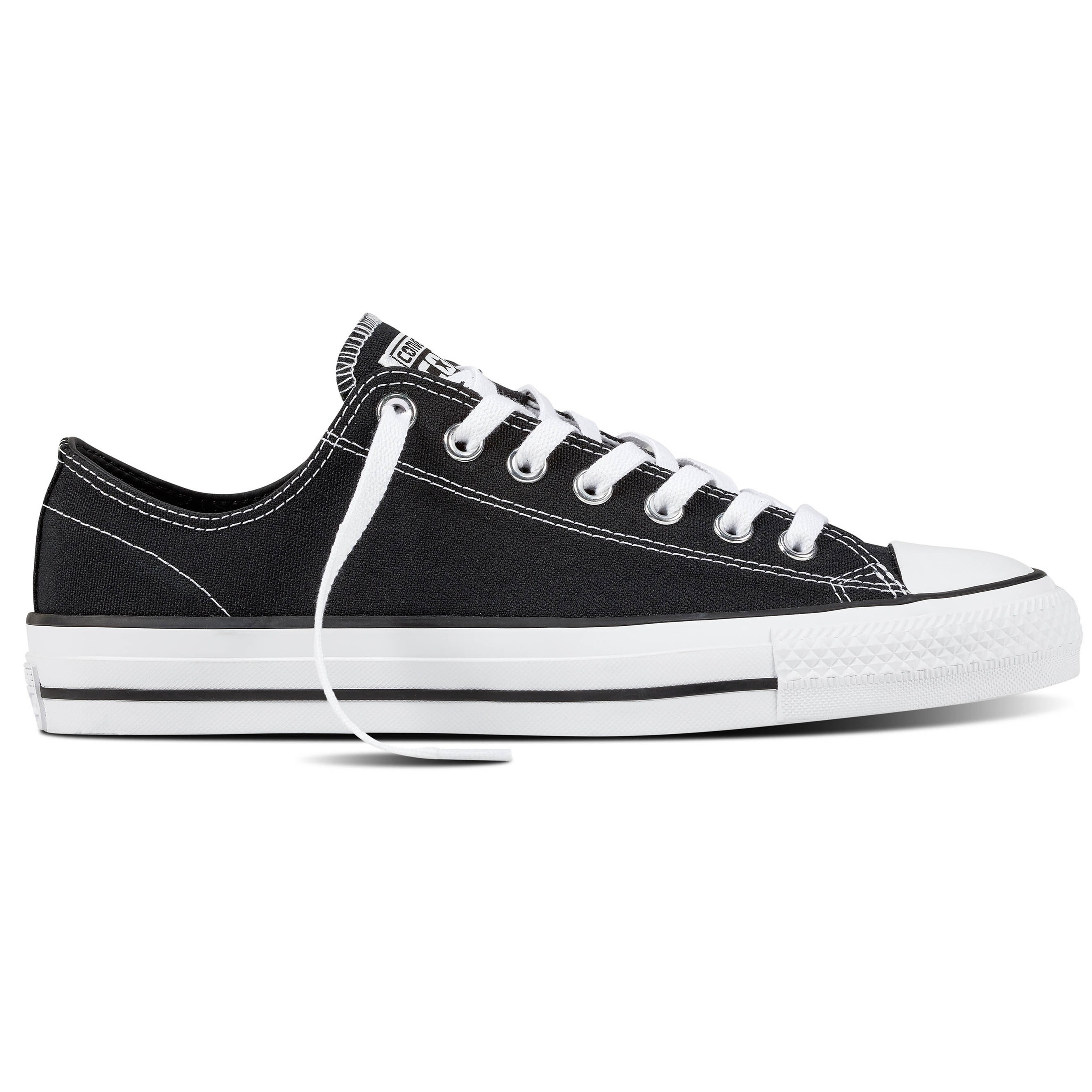 CTAS Pro Ox (Canvas) Black/Black/White