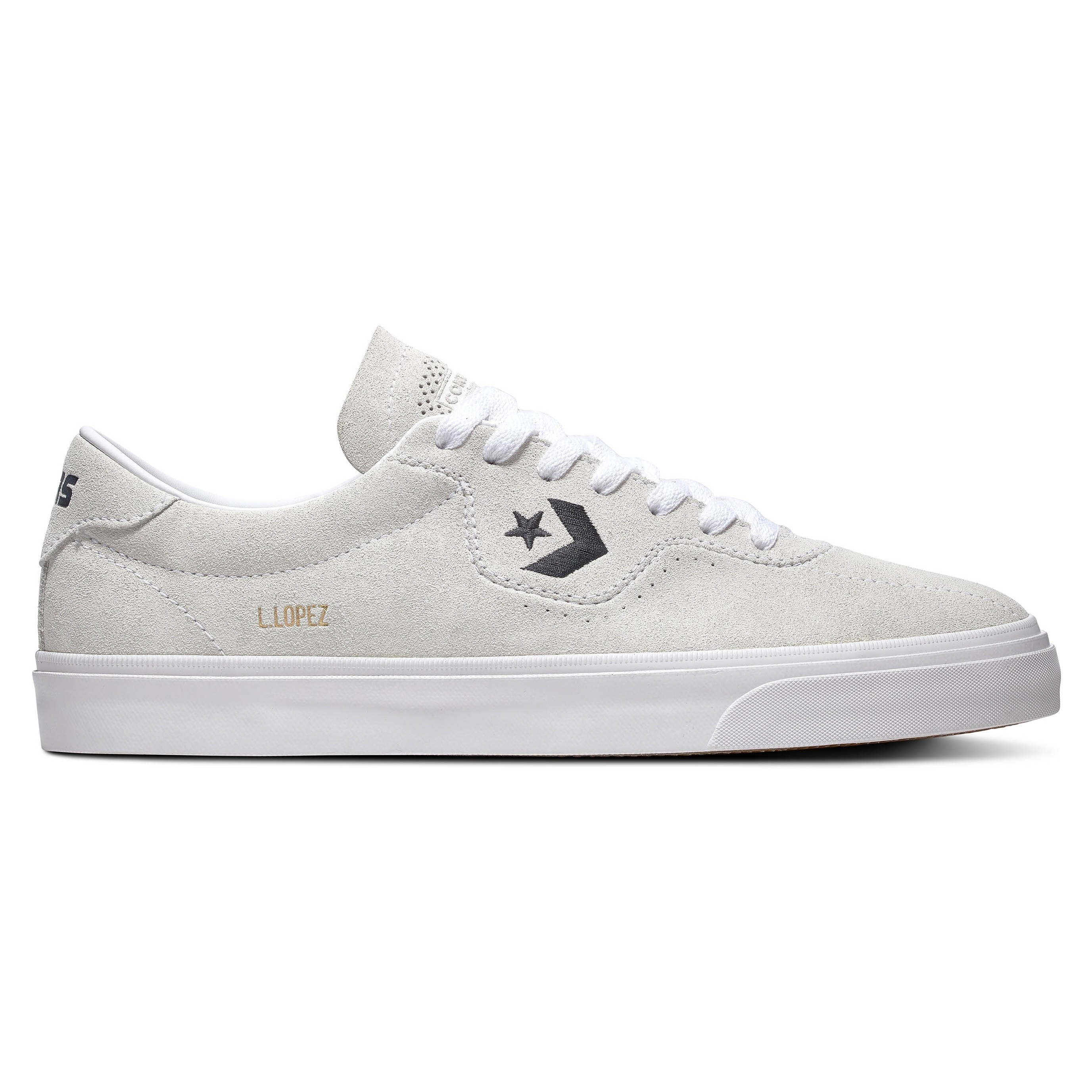 Louie Lopez Pro Ox (White/White/Black)