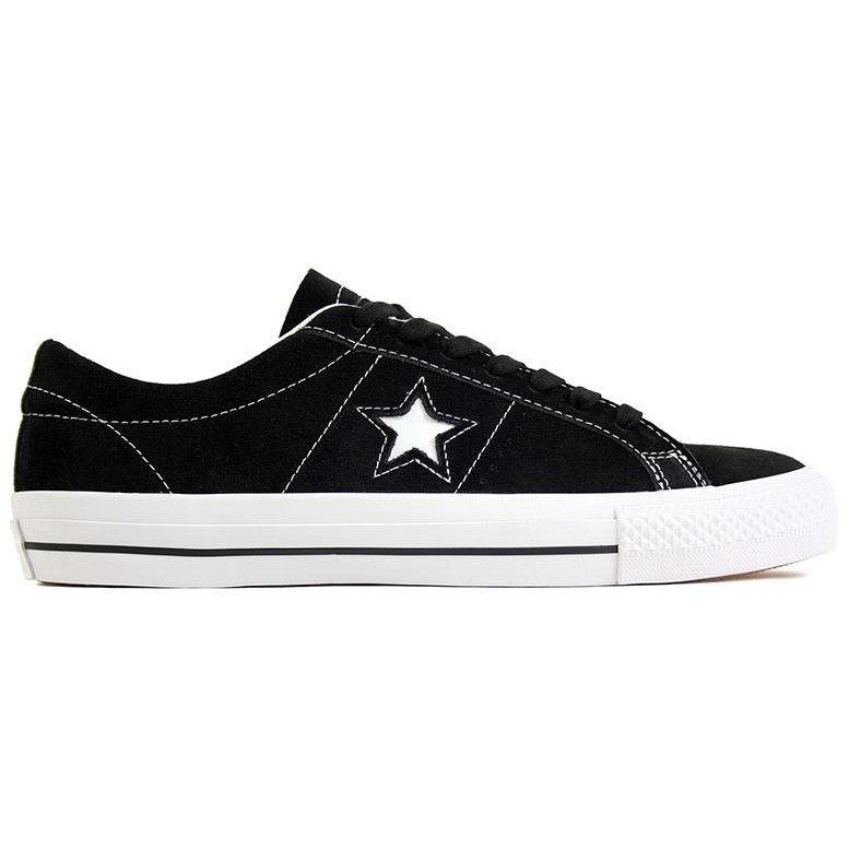 One Star Skate OX (Black/White)
