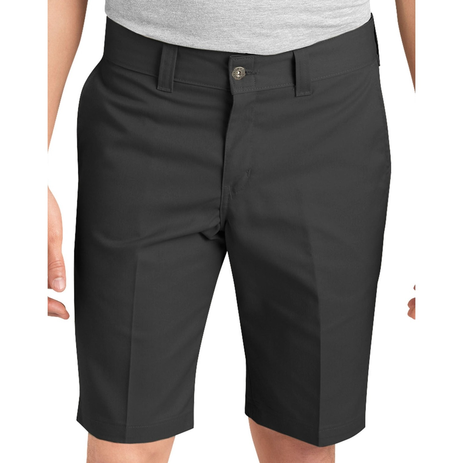 67 Slim Industrial Work Short (Black)