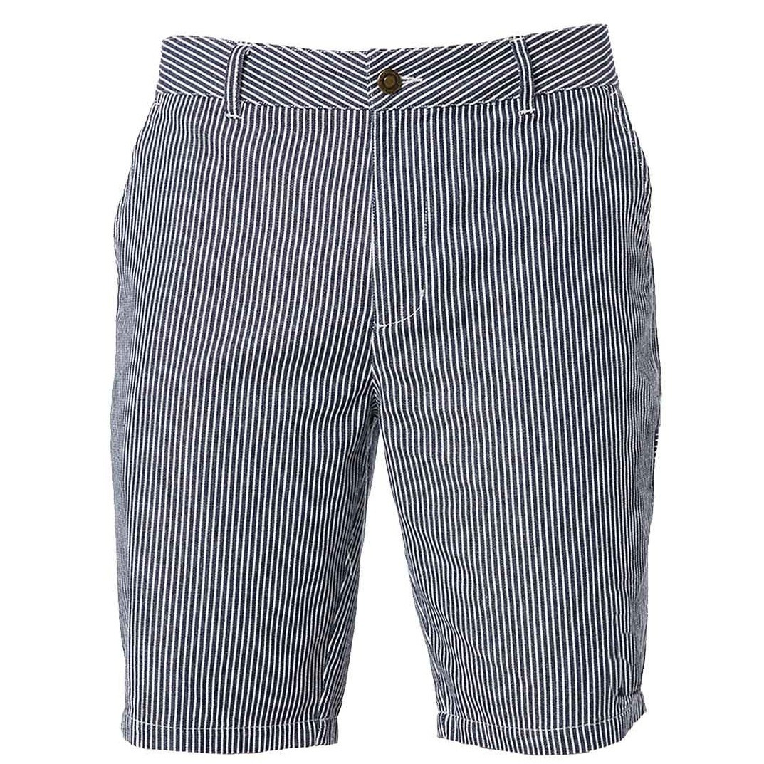67 Slim Industrial Work Short (Hickory Stripe)
