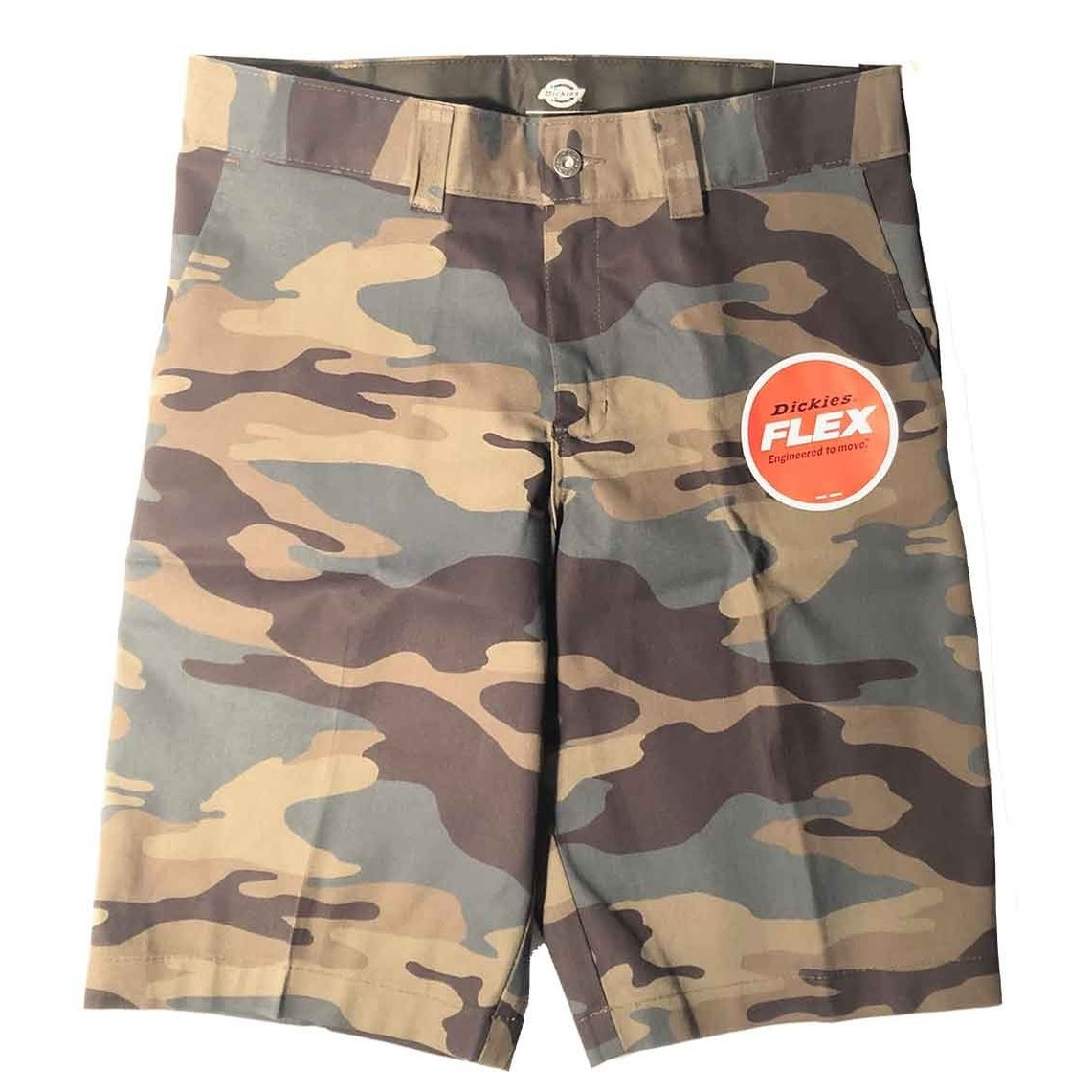 67 Slim Industrial Work Short (Hunter Green Camo)