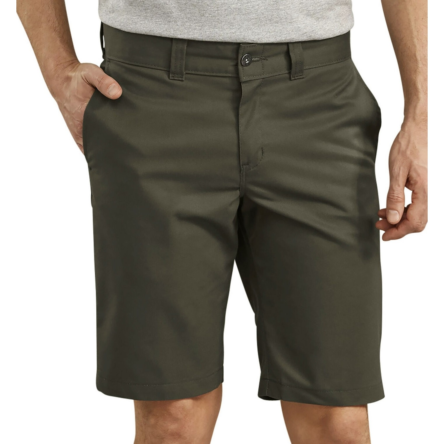 67 Slim Industrial Work Short (Olive Green)