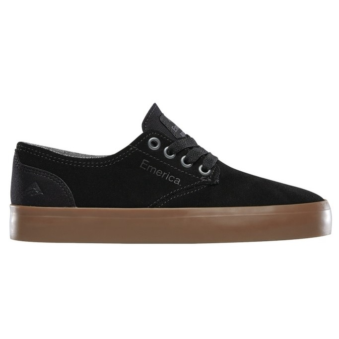 Kids Romero Laced (Black/Gum)