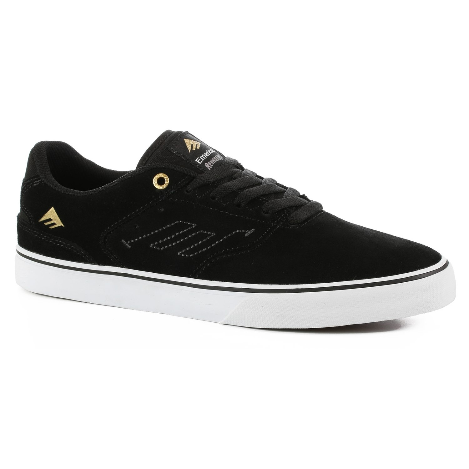 The Reynolds Low Vulc (Black/Gold/White)