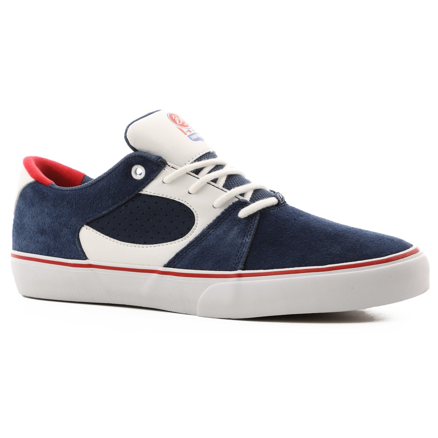 Square Three (Navy/White/Red)