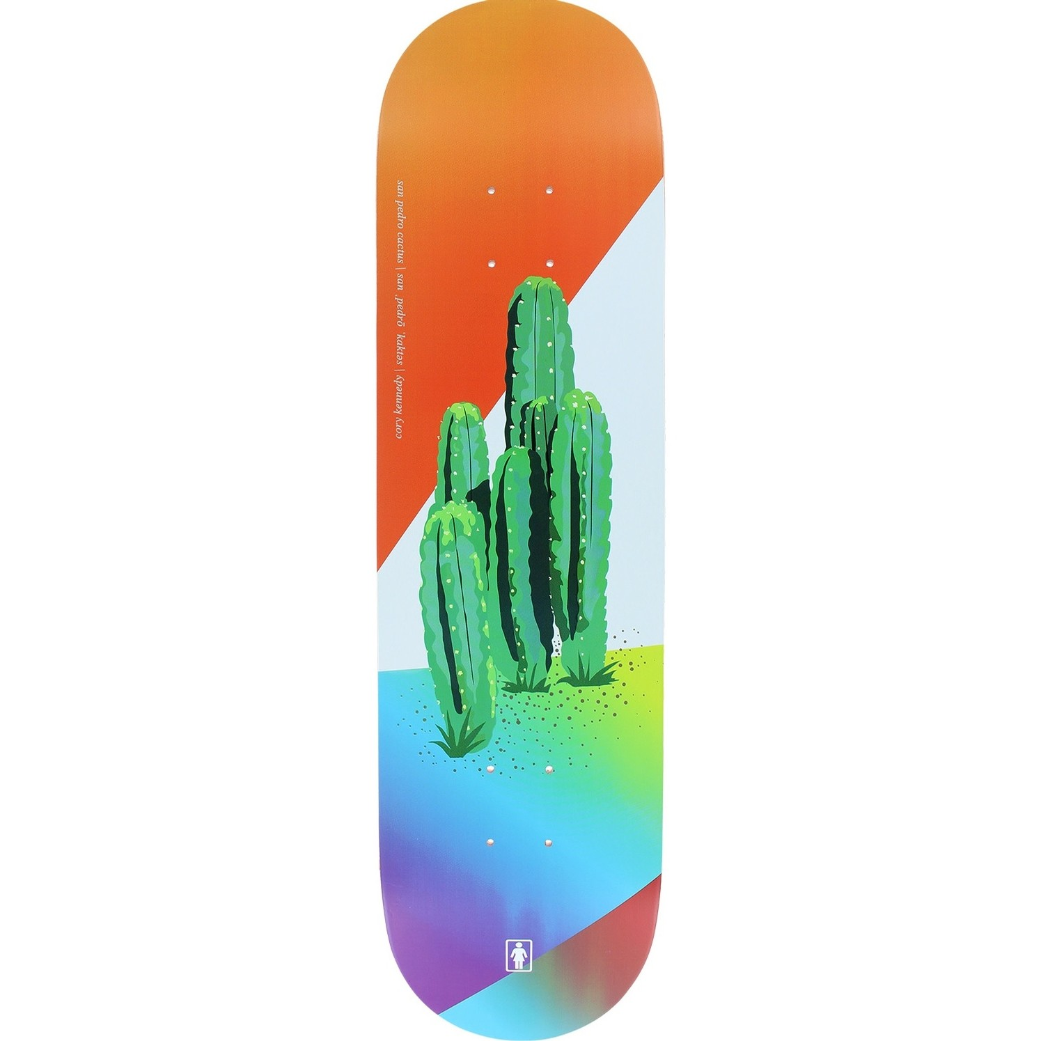 Kennedy Psychedelic Plants Deck (8.25)