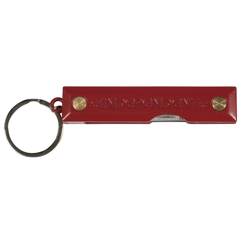 Red Curb Key Chain (Red)
