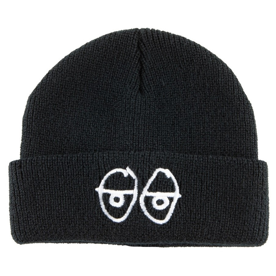 Stock Eyes Beanie (Black/White)