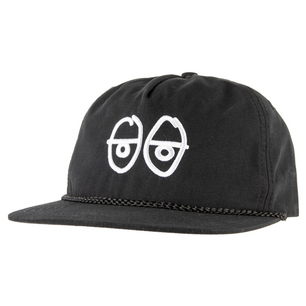 Stock Eyes Snapback (Black)