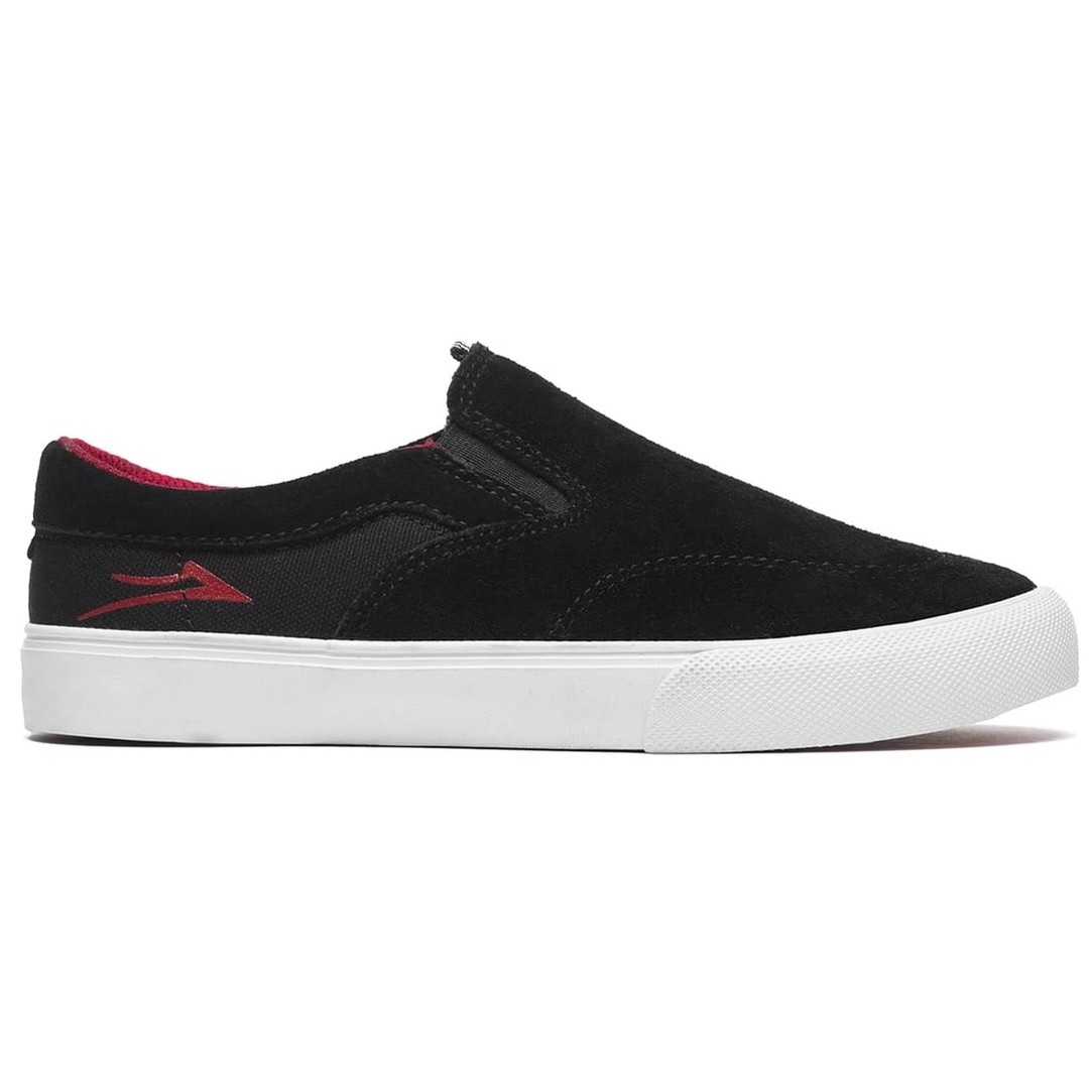 Kids Owen (Black/Red Suede)