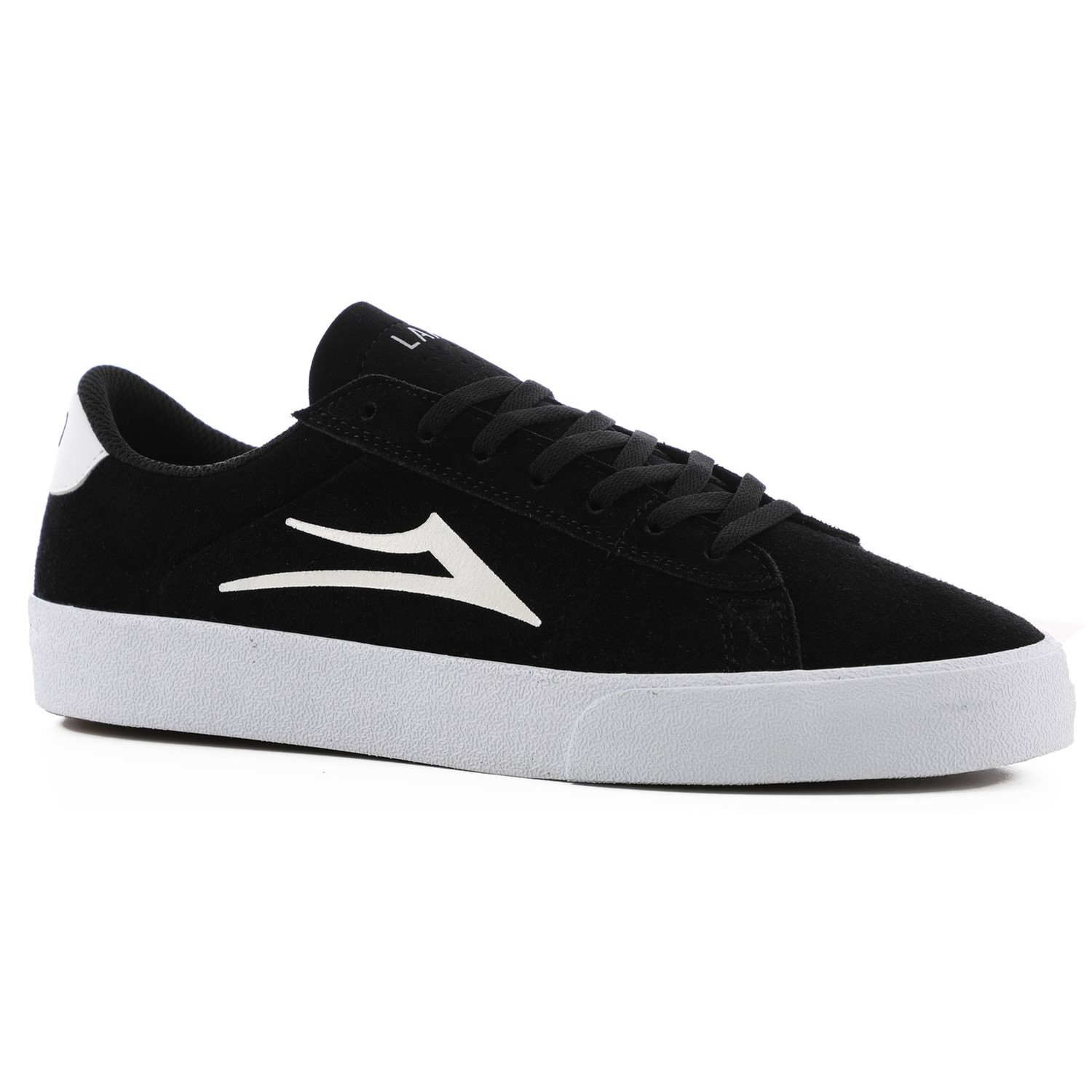 Newport (Black/White Suede)
